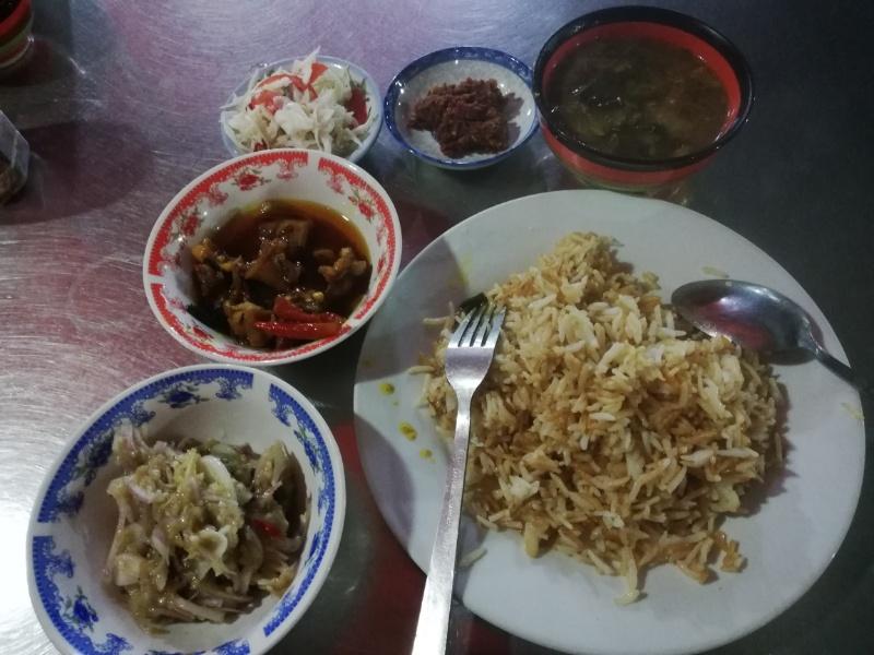 ミャンマー定食