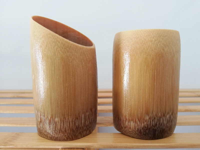 アカ族竹カップ