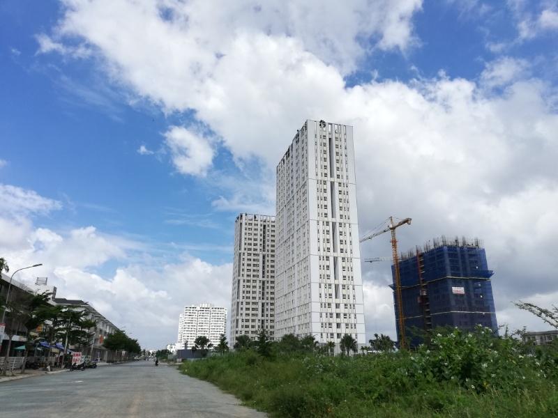 ホーチミン郊外の建設中マンションcityasoho