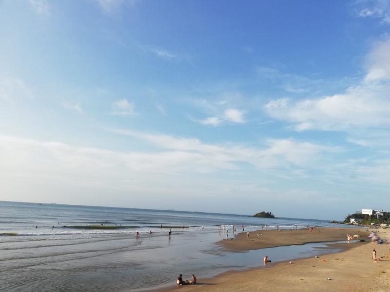 ブンタウの海