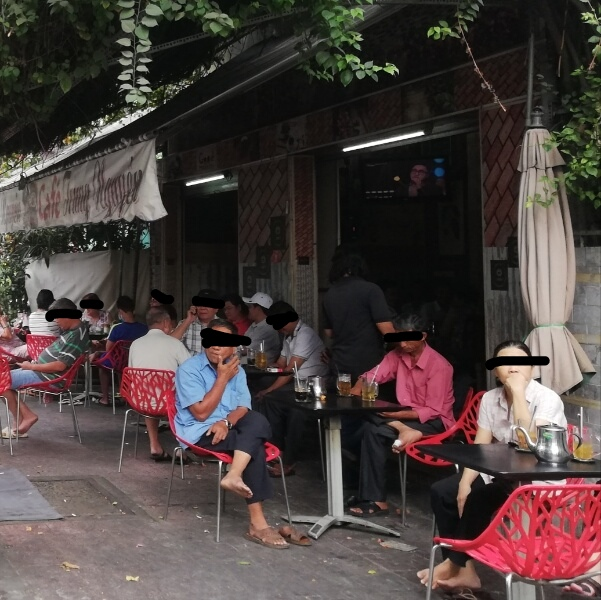 ホーチミンローカル喫茶店