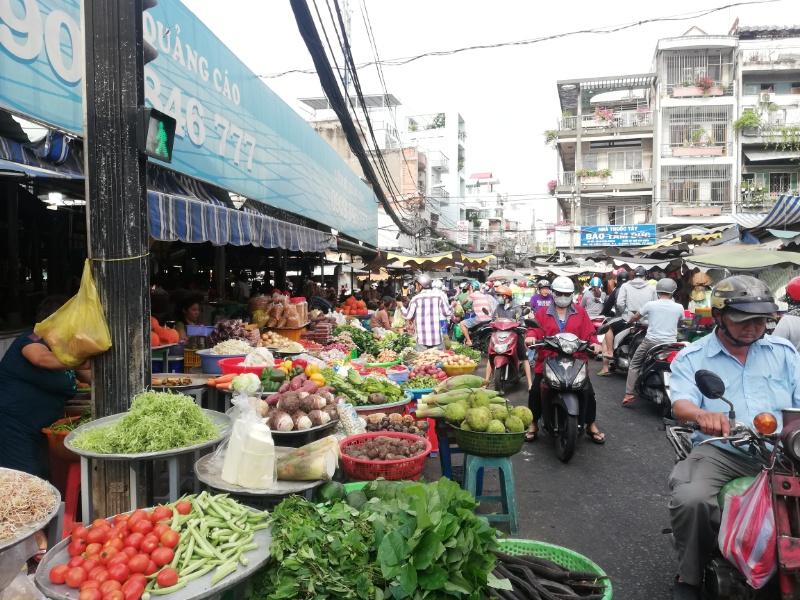 ベトナムローカル市場